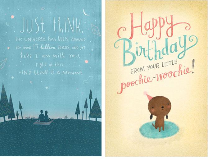 Alternative Cards Emily Dove Illustration – American Greetings Birthday Cards