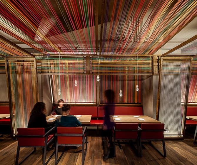 Restaurante pakta el equipo creativo estudio de for Equipos restaurante