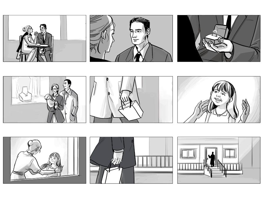 Commercial Storyboard - Jihyunbea2