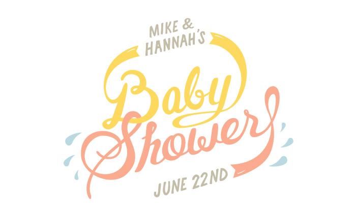 Baby Shower - Graphic Design portfolio of Marina Groh