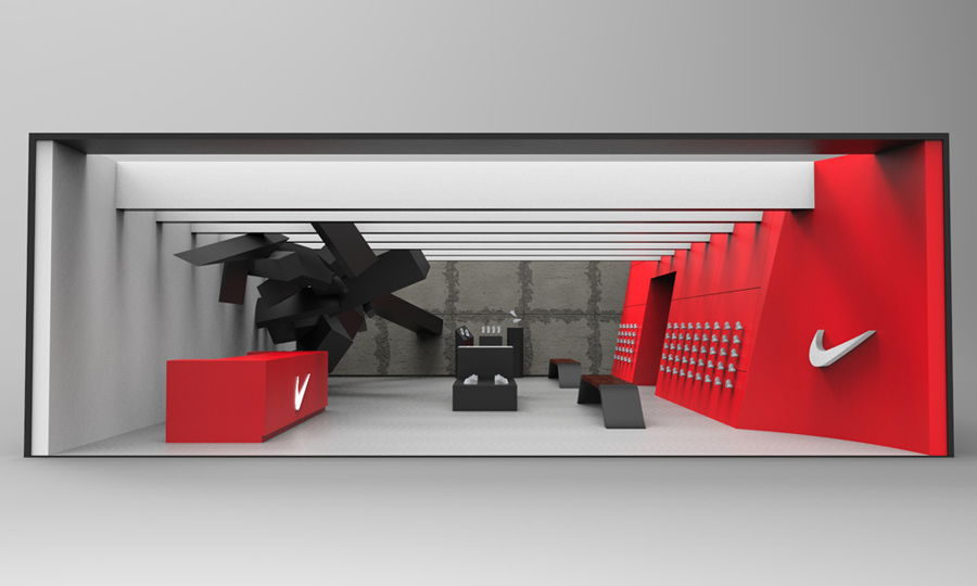The Tyre Shop >> Nike Store Concepts - pipkindesign