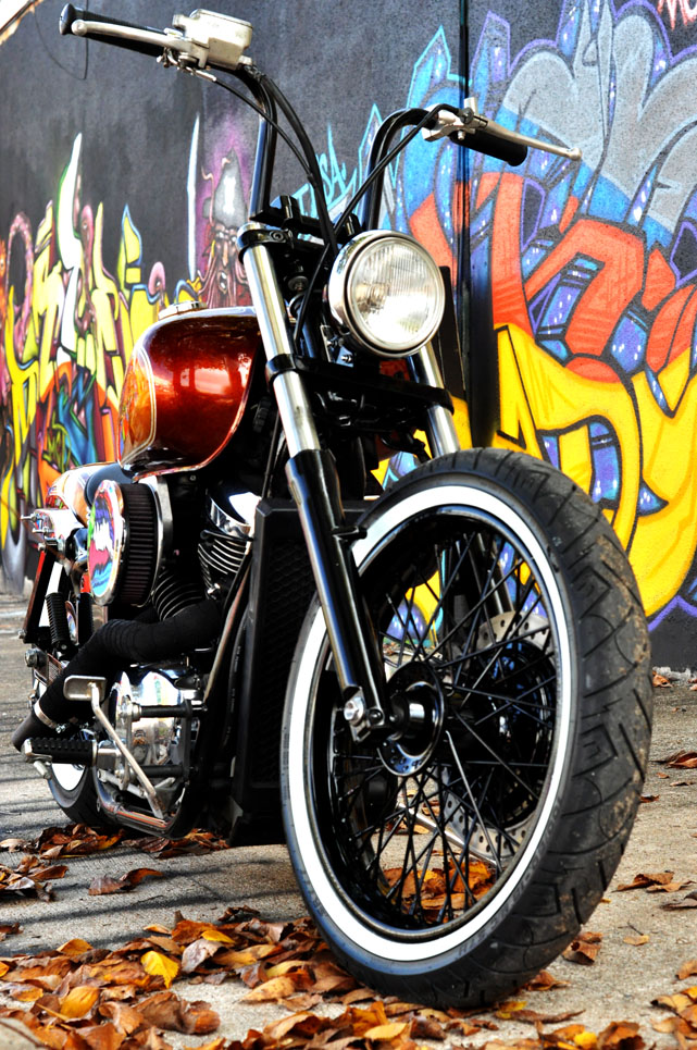 750 spirit bobber   houston retro bobbers