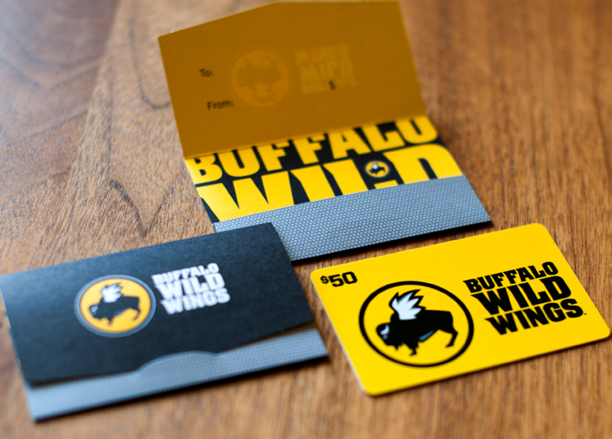 Alfa img - Showing > Buffalo Wild Wings Gift Card